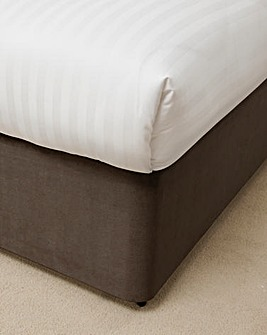 Faux Suede Divan Base Wrap