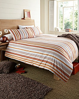 Cottage Stripe Duvet Cover Set