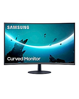 Samsung T55 FHD 75Hz 4ms Borderless Curved 24inch Monitor