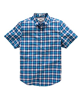 Penguin Short Sleeve Check Shirt Regular