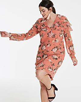 Lovedrobe Printed Shift Dress