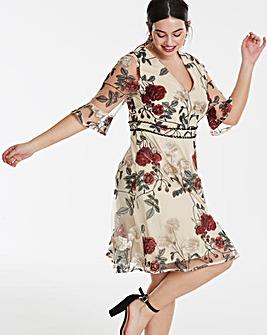 Lovedrobe Embroidered Dress