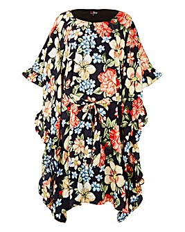 Lovedrobe Printed Kimono Dress