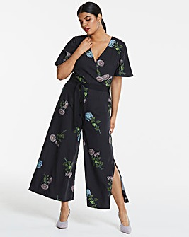 Oasis NHM Dahlia Floral Jumpsuit