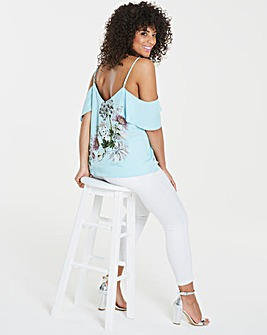 Oasis Natural History Placement Cami Top