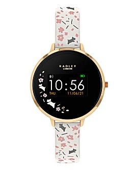 Radley Smart Watch Series 3 Smartwatch Cream Floral