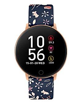 Radley Smart Watch Series 5 Smartwatch Blue Floral