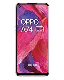 OPPO A74 5G 128GB Silver