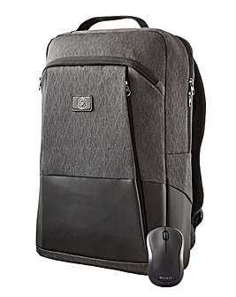ENTITY Laptop Backpack & Wireless Mouse Bundle