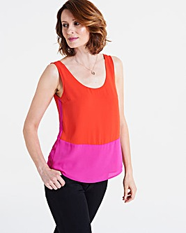 Oasis Colour Block Vest
