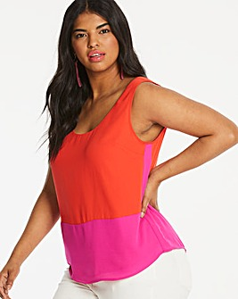 Oasis Colour Block Vest