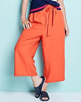 Oasis Colour Pop Crop Wide Leg Trousers