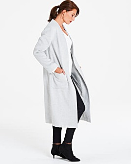 Helene Berman Edge to Edge Longline Coat