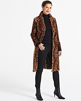 Helene Berman Skinny Leopard Coat