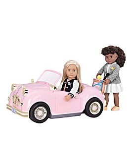 Our Generation Retro Car for 18in Doll