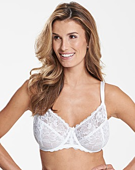 Ivy Lace Full Cup Value White Bra