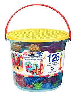 Bristle Blocks 128pc Jungle Adventure