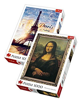 1000pc Art Puzzles 2 Pack