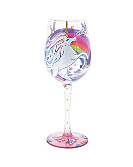 Lolita Unicorn Wine Glass