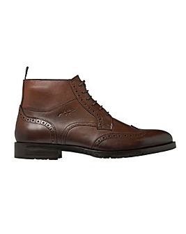 Tommy Hilfiger Brogue Leather Lace Boot