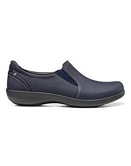 Hotter Embrace Wide Fit Slip-on Shoe
