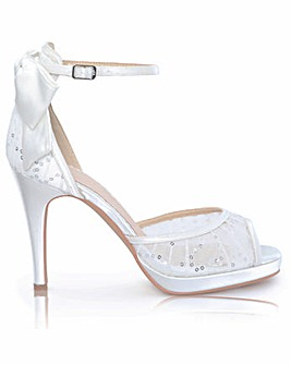 Perfect Joss Open Waist Platform Sandal