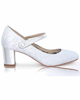 Perfect Toni Lace Mary-Jane Court Shoe