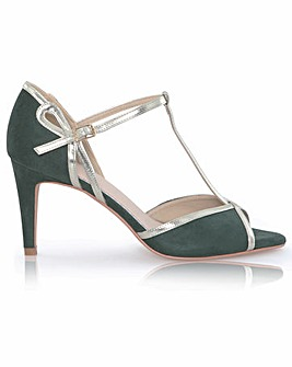 Perfect Joanna Ultra Suede T-Bar Sandals