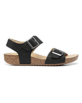 Hotter Tourist II Wide Fit Buckle Sandal