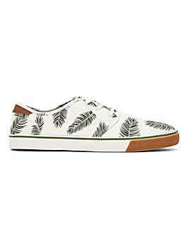 Toms Vegan Palm Print Lace Up Pump