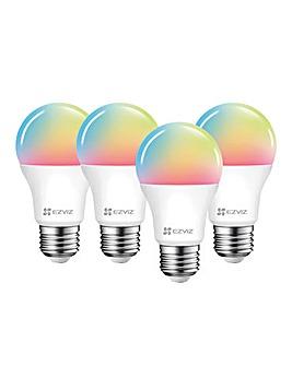 EZVIZ Quad PK Colour Smart Bulb E27