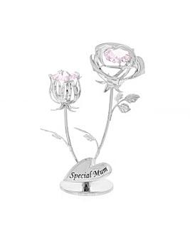 Crystocraft Special Mum Rose & Rose Bud