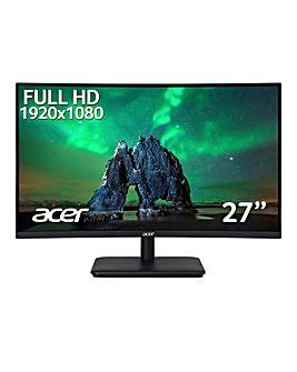 Acer ZeroFrame 165Hz FreeSync EcoDisplay Curved 27in Monitor