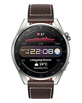 Huawei Watch 3 Pro Classic - Pebble Brown