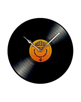 Musicology Class Record Wall Clock 30cm