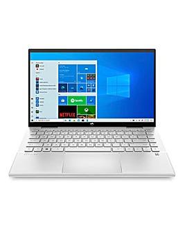 HP Pavilion x360 Intel Core i3 8GB 128GB FHD 14in Laptop Silver
