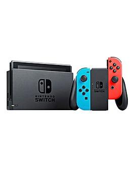 Nintendo Switch Neon Console