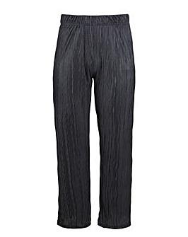 Lovedrobe GB Black Plisse Trousers