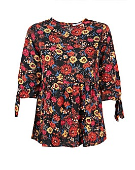 Lovedrobe GB Floral Smock Top