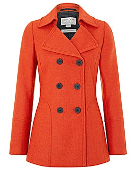 Monsoon Pippa Pea Coat