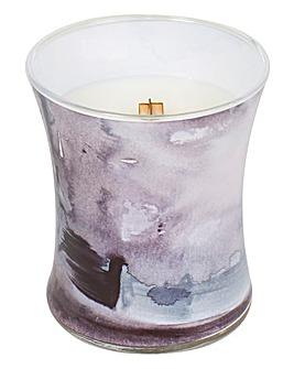 Woodwick Sea Salt Magnolia Jar Candle