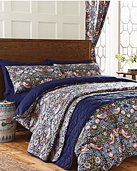 W Morris Strawberry Thief Duvet Cvr Set