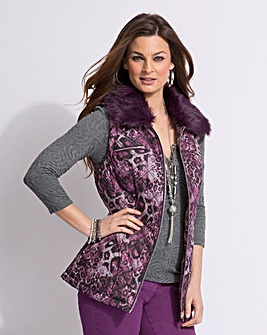 Top to Toe Quilted 2-in-1 Jacket