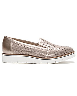 Daniel Cassey II Perforated Loafers