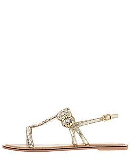 Monsoon Marnie Embellished Strap Sandal
