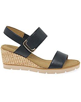 Gabor Porter Standard Fit Wedge Sandals