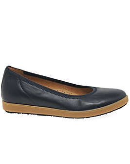 Gabor Patsy Womens Wide Fit Ballet Pumps