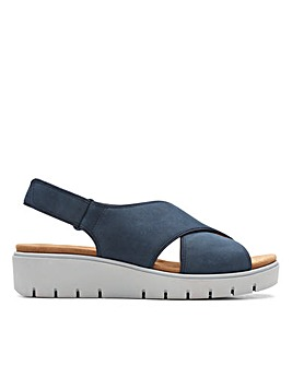 Clarks Unstructured Un Karely Sun Wide Fitting Sandals