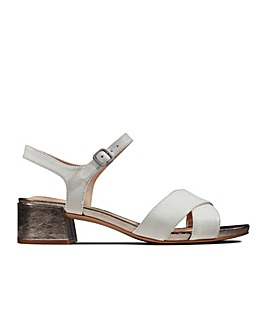Clarks Sheer35 Strap Standard Fitting Sandals