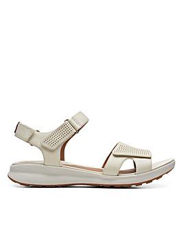 Clarks Unstructured Un Adorn Calm Wide Fitting Sandals